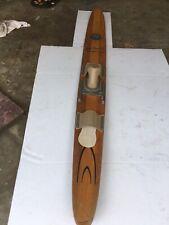 Vintage Dick Pope Jr. Cypress Gardens Wood Water Ski - Nice Original Ski