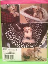 Simplicity Sewing Pattern 2984 Pet Animal Travel Accessories Blanket one Size