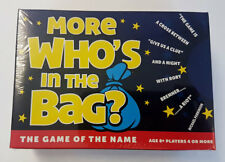 More Who's In The Bag Verbal Charades Name Game Add On's Family Party Game