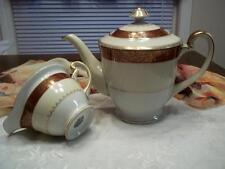 Rare Antique Spoto China Occupied Japan Teapot & Creamer