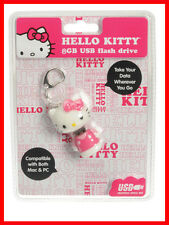HELLO KITTY Sanrio 8 GB USB Computer Flash Drive MAC/PC
