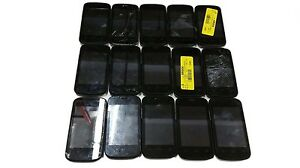 15 Lot ZTE Z667T Zinger Android Smartphone GSM T-Mobile Locked Used For Parts