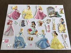Vinyl Playset Disney Princess Cinderella Belle SEE CONDITION