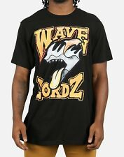 Pink Dolphin Black Waves Carnivore Tee - Large