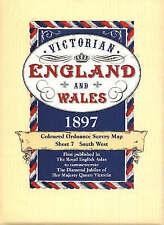 Victorian Maps England and Wales, 1897  (7), J G Bartholomew, New Book