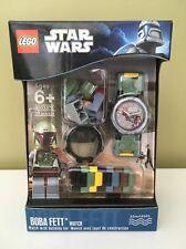 Lego Star Wars Boba Fett Wrist-watch 9003370  New  Free Shipping