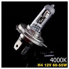 Ampoule Lampe Halogene Feu Phare XENON GAZ Blanc White H4 55W 4000K 12V - 1PC