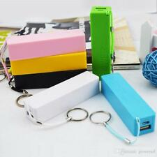 2600mAh POWER BANK PORTABLE USB BATTERY CHARGER FOR iPHONE SAMSUNG MOBILE PHONE