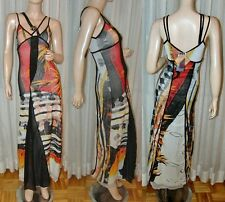 $385 New SAVE THE QUEEN Party Summer Dress  cavalli S /M