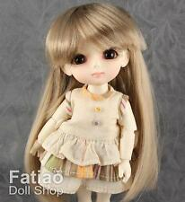 "Fatiao - Dollfie Lati Yellow Pukifee 5-6"" long Doll Wig Latte"