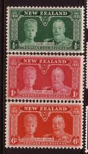 NEW ZEALAND....  1935  silver jubilee set mnh