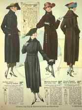 A4 Photo T Eaton Fall & Winter Catalogue 1920 21 All Wool Velour & Plush Coats P