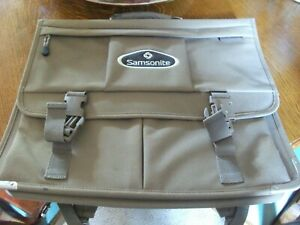 Samsonite BEIGE/KHAKI - CANVAS back pack/Laptop case