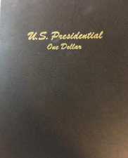 Us Presidential Dollars in Dansco Album, 78 Coins, P&D, Bu