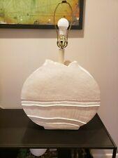 New listing Authentic Bon Art 1989 Coastal Boho Plaster Lamp