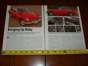 1967 MGB GT ORIGINAL 2013 ARTICLE