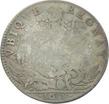 O3672 Jeton Louis XIII Conseil Roi 1638 Lion Argent Silver ->Faire offre