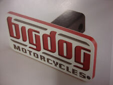 BIG DOG MOTORCYCLES AUTO TRAILER HITCH COVER 3-D EFFECT CHOPPER K-9 MASTIFF BDM