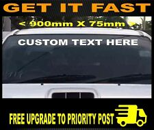 900mm Car 4x4 Bumper Sticker Decal Custom Vinyl Film Name Lettering