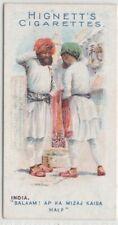 Native India Men Greeting Clothing Fashions 100+ Y/O Trade Ad Card