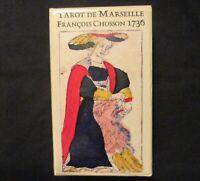 RARE! Tarot of Marseilles Tarot Deck - Francois Chosson 1736 Ltd Numbered Ed OOP