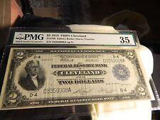 2$ BATTLESHIP NOTE 1918 PMG 35