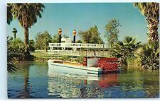 *Encanto Boating Co Paddlewheel Encanto Park Lagoon Phoenix Arizona Postcard B81