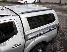 Nissan Navara NP300 / Hardtop / Laderaumabdeckung / Aufstellen Fenster mit USB