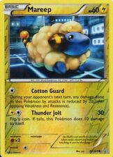 pokemon BW 6 DRAGONS EXALTED  reverse holo karte 38/124 MAREEP 60 HP