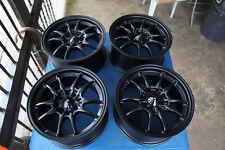 """JDM 15"""" MF10 MF8 Style wheels rims  ctr itr ek9 ef8 ef9 sb3 eg6 cb3 MUGEN"""