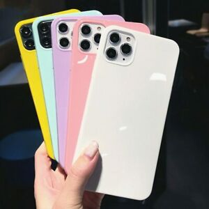 New Candy Case for iPhone 8 7 XR 11 PRO MAX ShockProof Soft Cover TPU Silicone