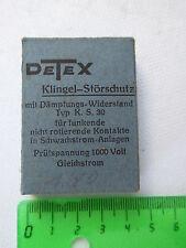 Detex-timbre-störschutz radio antigua radiodifusión destinatario Los destinatarios popular ve301