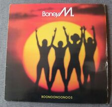 Boney M, boonoonoonoos, LP - 33 Tours France  + poster