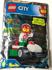 Lego City Race Driver And Go-Kart Mini Figure Polybag