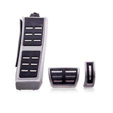 Kit Pédales Pédalier Alu Aluminium Brossé Audi Q5 SQ5 8R Boîte Auto