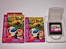 Ren and Stimpy Quest for the Shaven Yak Complete - Sega Game Gear TESTED & WORKS