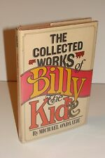 The Collected Works of Billy the Kid SIGNED by Michael Ondaatje 1st/1st 1970 HC