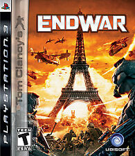 Tom Clancy's EndWar (Sony PlayStation 3, 2008) -Complete