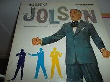 TWO RECORD ALBUM SET BY AL JOLSON - THE BEST OF JOLSON VINTAGE DECCA RECORDS