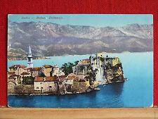Farbkarte - Budva / Budua - Dalmatien - gel 1914 - Dalmacija - Montenegro