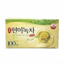 NEW DONGSUH Brown Rice Green Tea 1.5g X 100 Tea Bags