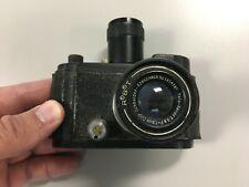 Antique WWII Robot Luftwaffen-Eigentum 35mm Camera DRP Schneider-Kreuznach Lens