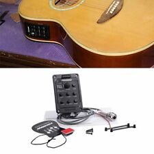 Fishman 301 4-Band EQ Equalizer Acoustic Guitar Preamp Piezo Pickup Guitar Tuner