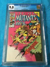 New Mutants Annual #2 - Marvel - CGC 9.2 White Pages - 1st Psylocke