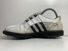 New listing ADIDAS ORIGINALS WHITE LEATHER VINTAGE GOLF TRAINERS SIZE 7.5 UK
