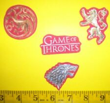SaleINew! Cool! Game Of Thrones Iron-on Fabric Appliques ~ Iron ons