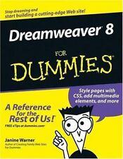 Dreamweaver 8 For Dummies (For Dummies (Computers)), Warner, Janine, Good Book