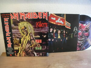 IRON MAIDEN KILLERS LP PICTURE DISC HEAVY VINYL MINT- LIMITED EDITION