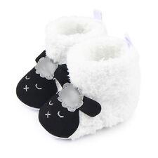 Newborn Baby Toddler Boy Girl Cartoon Anti Slip Boots Warm Slippers Crib Shoes