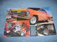 "1966 Chevy II Nova RestoMod Article ""Switchblade 327"""